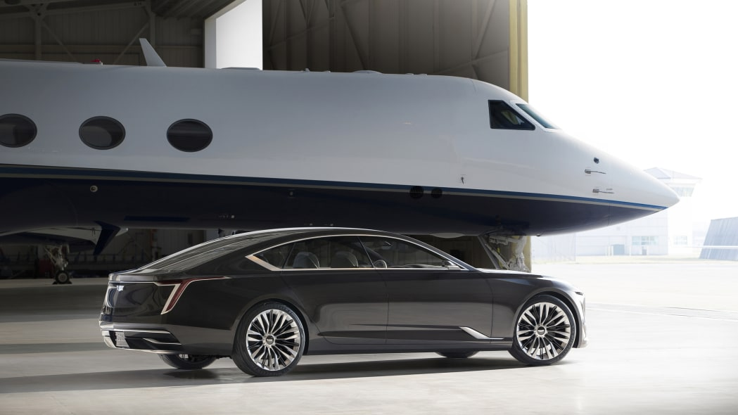 Cadillac Escala Concept rear three quarter