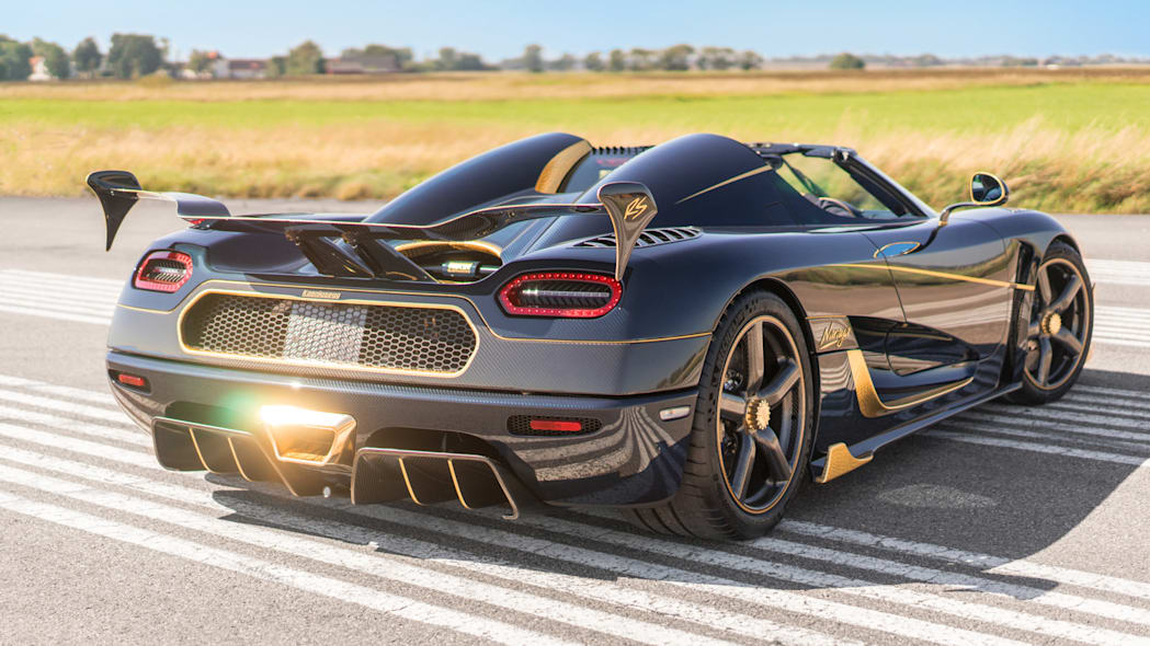 Koenigsegg Agera RS 'Naraya' Rear End Exterior