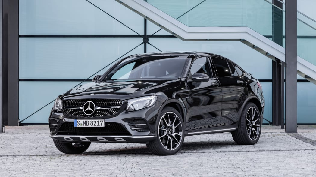 Mercedes-AMG GLC43 Coupe Front End Exterior