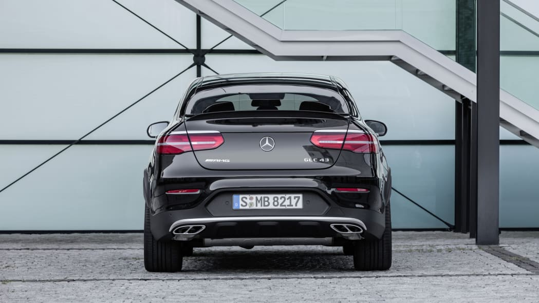 Mercedes-AMG GLC43 Coupe Rear End