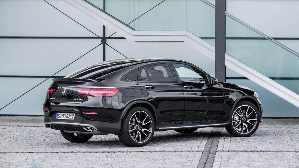 Mercedes-AMG GLC43 Coupe Side Rear Exterior
