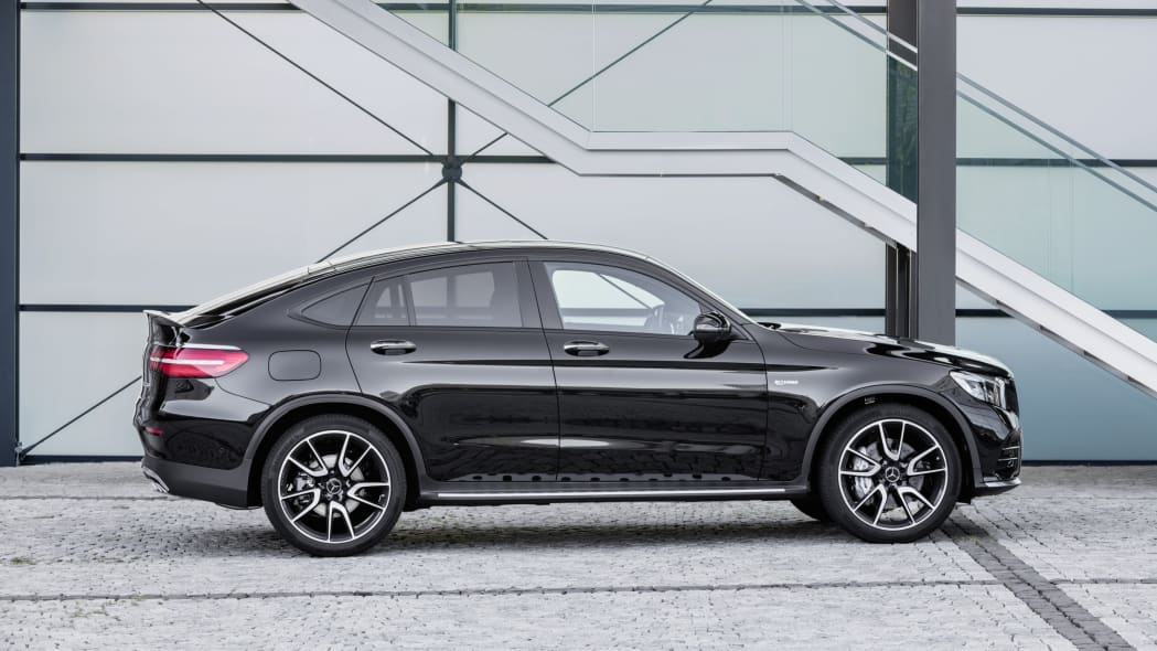 Mercedes-AMG GLC43 Coupe Side Exterior