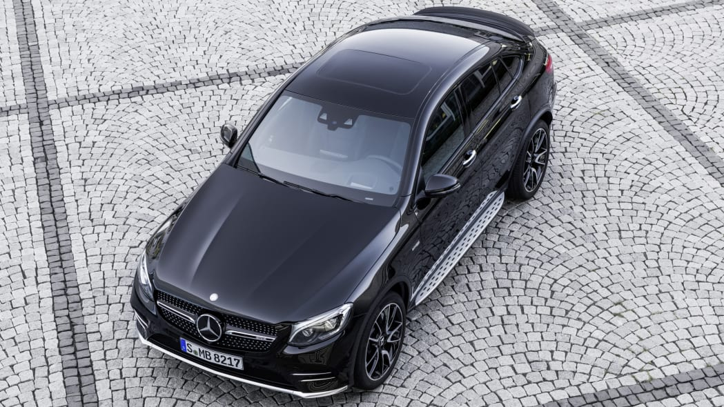 Mercedes-AMG GLC43 Coupe Top Exterior