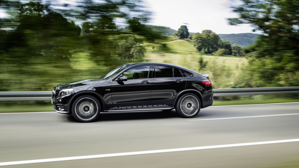 Mercedes-AMG GLC43 Coupe Driving Side Exterior