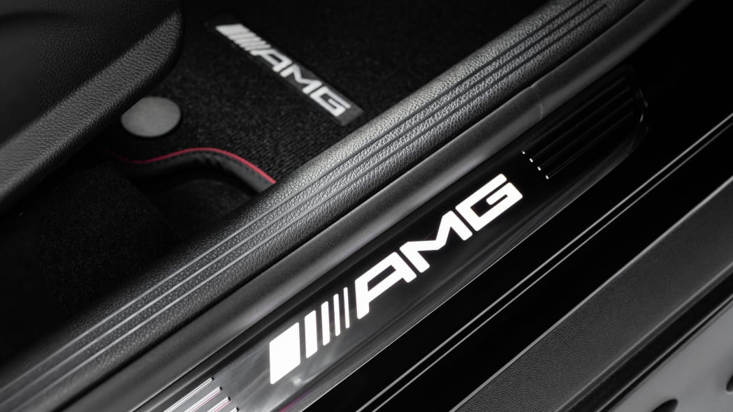Mercedes-AMG GLC43 Coupe AMG Door Sill