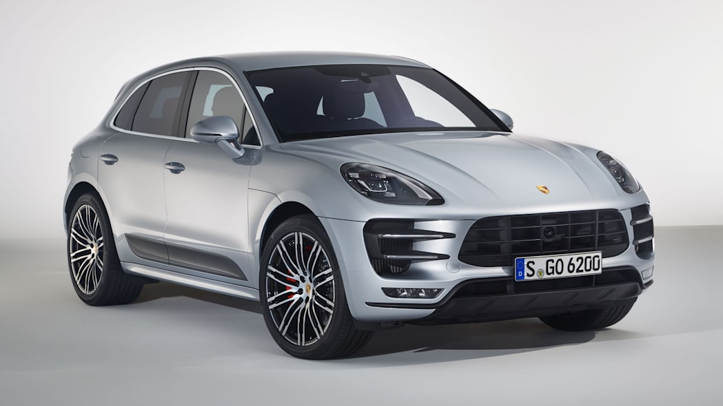 Porsche Macan Turbo with Performance Package Front End Exterior