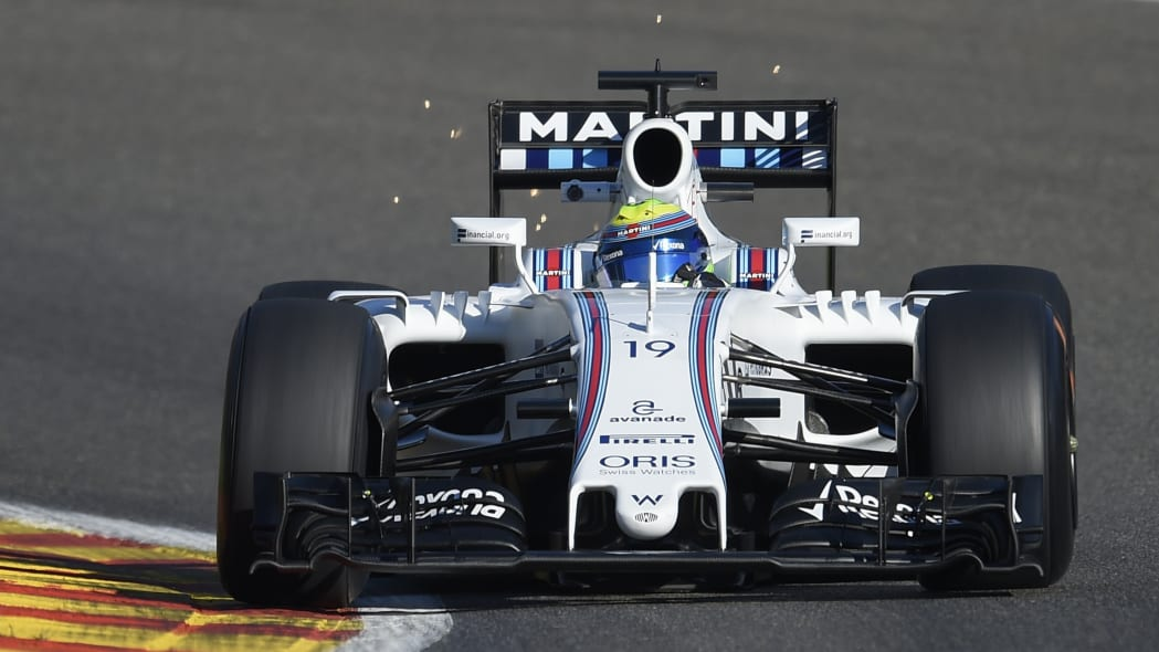 Felipe Massa During Practice Session At Spa-Francorchamps 2016