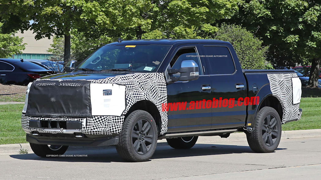 2018 ford f-150 spy photo supercab