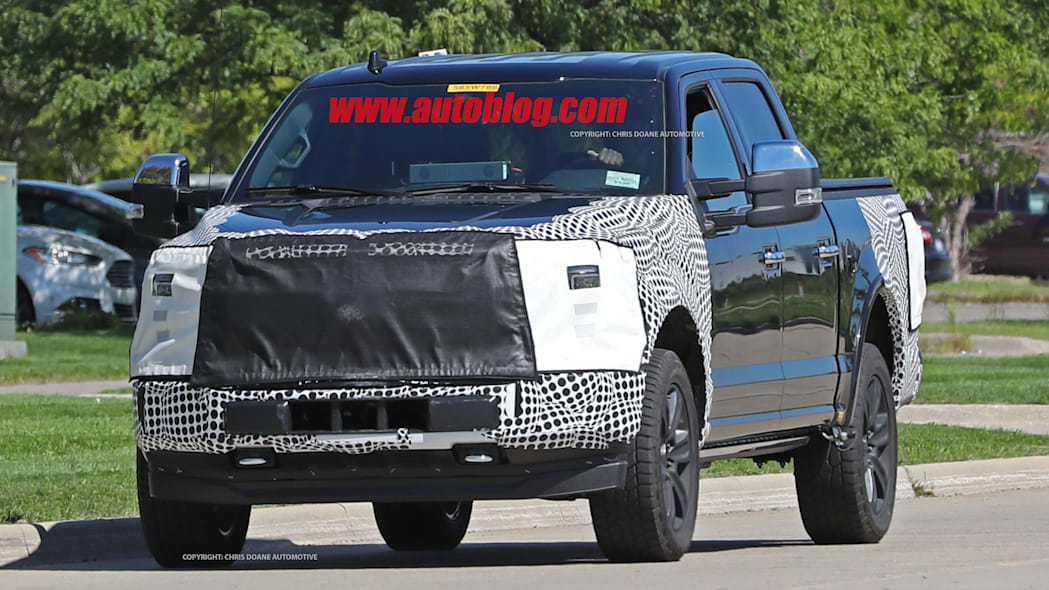 2018 ford f-150 spy photo front