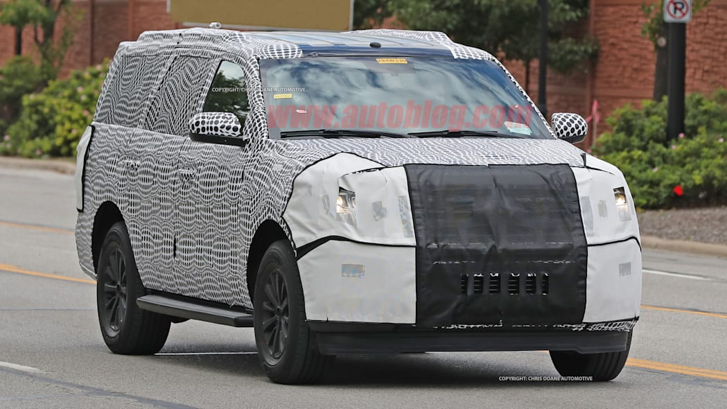 2018 ford expedition spy shots front exterior