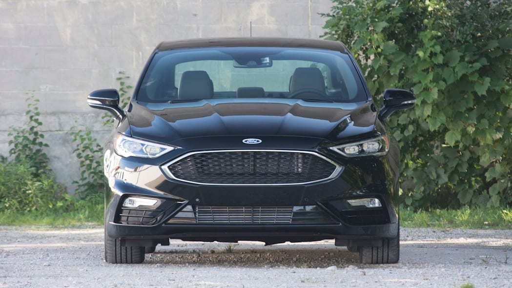 2017 ford fusion sport front