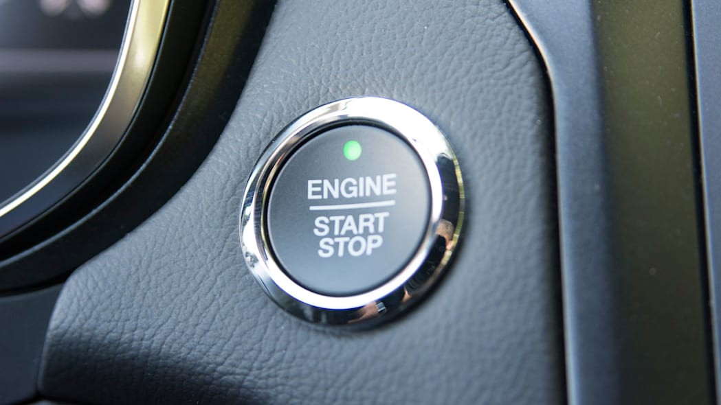 2017 ford fusion sport engine start stop button