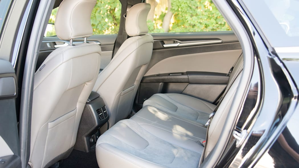 2017 ford fusion sport rear seats