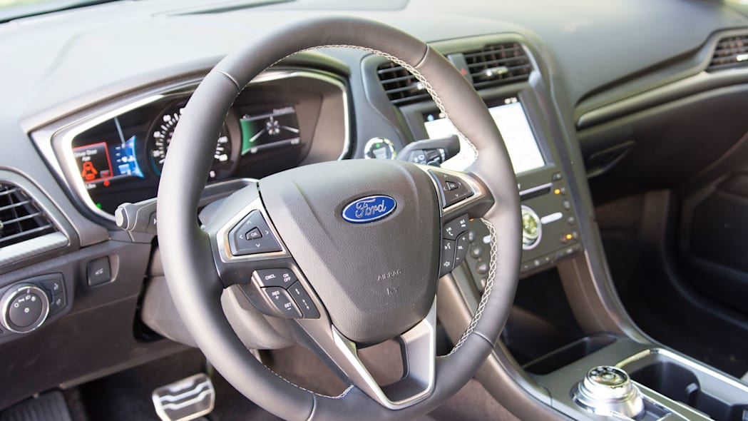 2017 ford fusion sport steering wheel