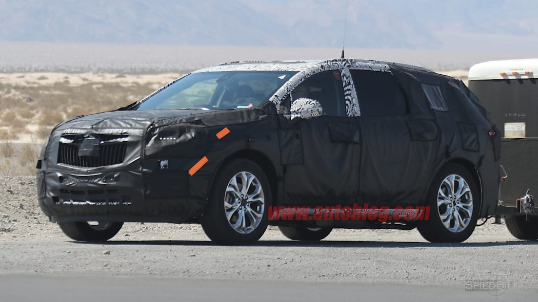 2018 Buick Enclave Spy Shots Three Quarter Front Exterior