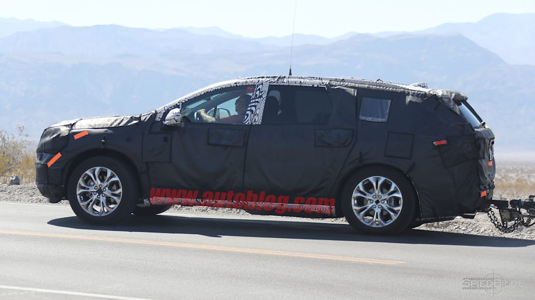 2018 Buick Enclave Spy Shots Side Exterior