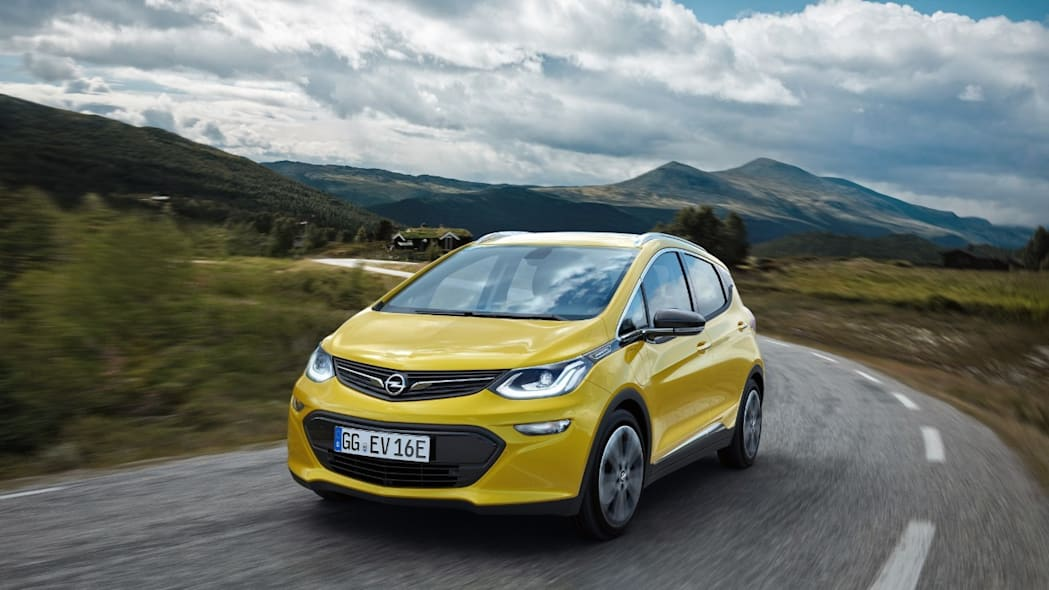 opel ampera-e front 3/4