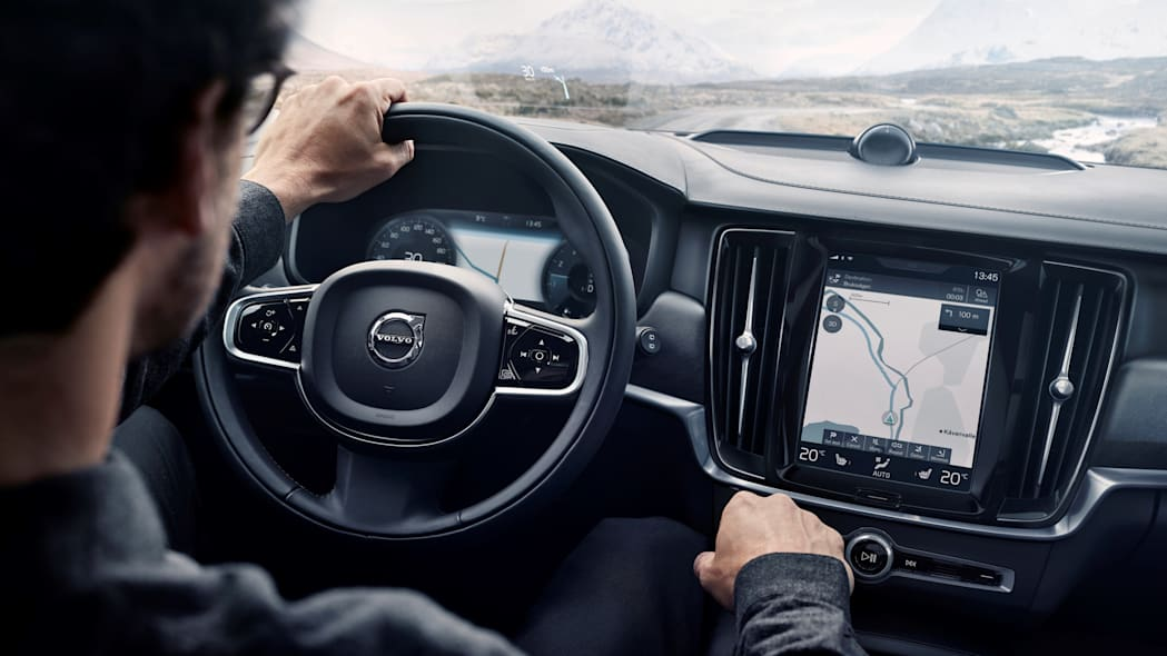 2017 Volvo V90 Cross Country Dashboard Close Up Interior