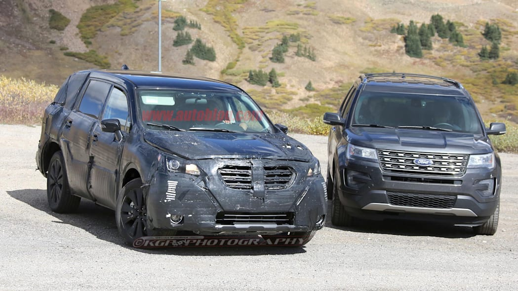 2019 Subaru Three-Row SUV Front End Exterior