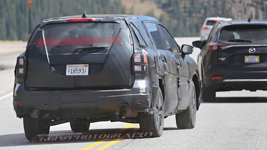 2019 Subaru Three-Row SUV Rear End Exterior