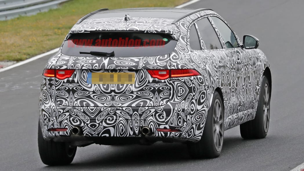 2019 Jaguar F-Pace R rear