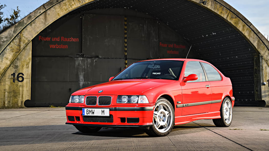 BMW M3 Prototype Compact Front End Exterior