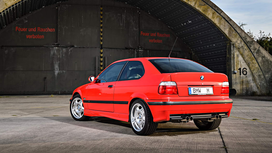 BMW M3 Prototype Compact Rear End Exterior
