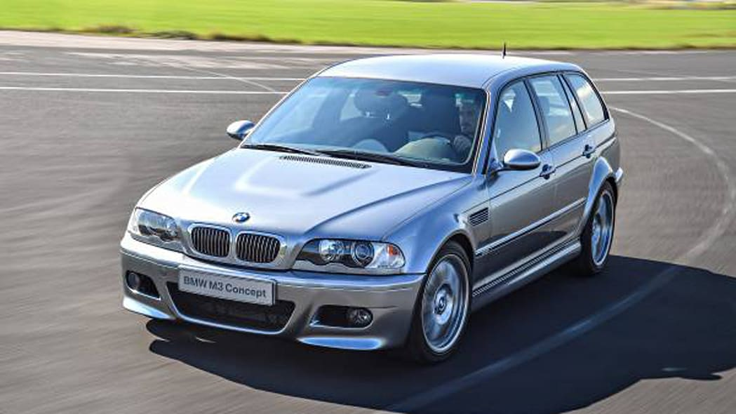 BMW M3 Prototype Touring Front End Exterior Driving