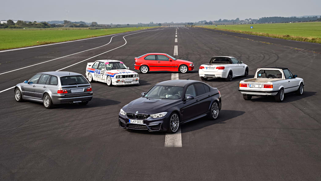 BMW M3 Prototypes Rear Exterior Collection