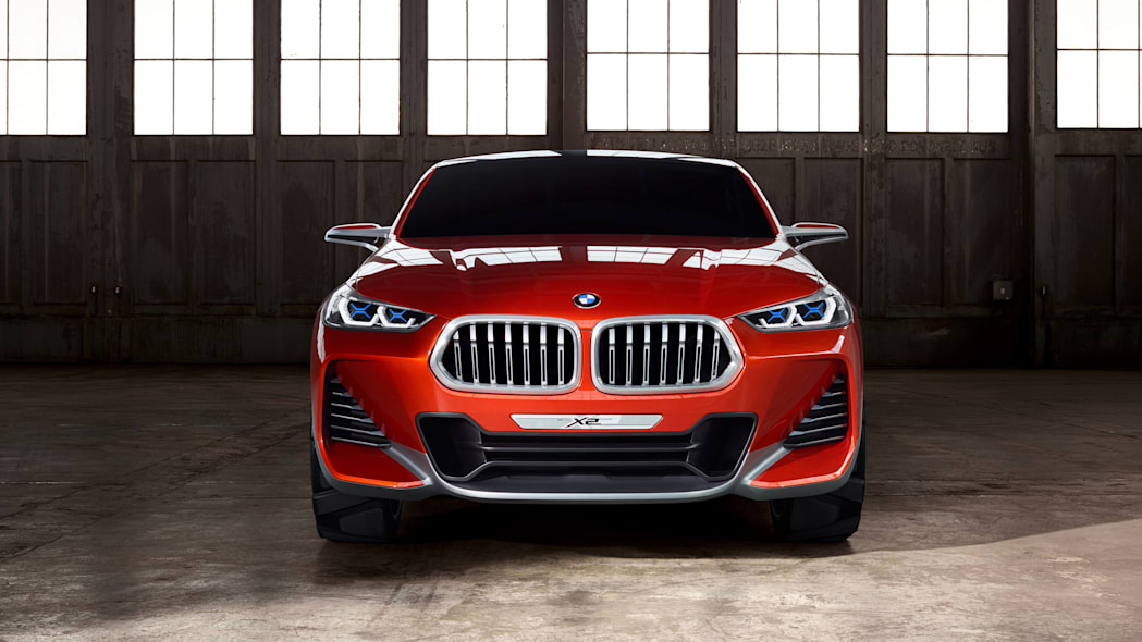 bmw x2 concept front grille