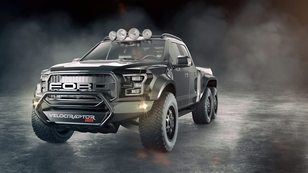 Hennessey Performance VelociRaptor 6X6 Concept Front End Exterior