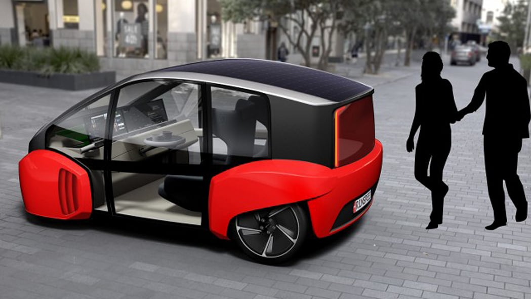 Rinspeed Oasis Concept Side Rear Exterior