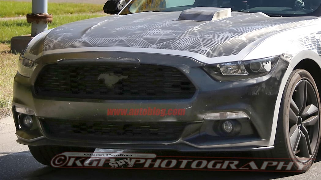 2018 Ford Mustang prototype front