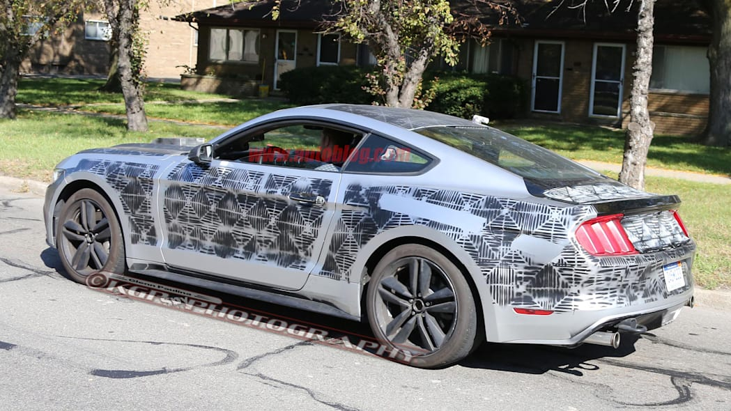 2018 Ford Mustang prototype profile