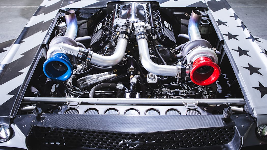 Ken Block's Hoonicorn V2 Engine
