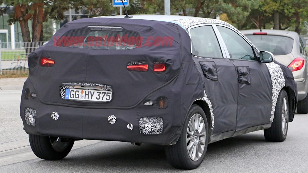 Hyundai SUV Spy Shots Rear Exterior