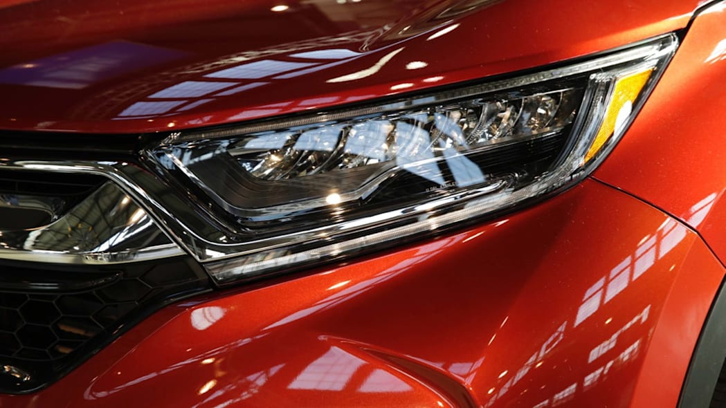 2017 honda cr-v headlights