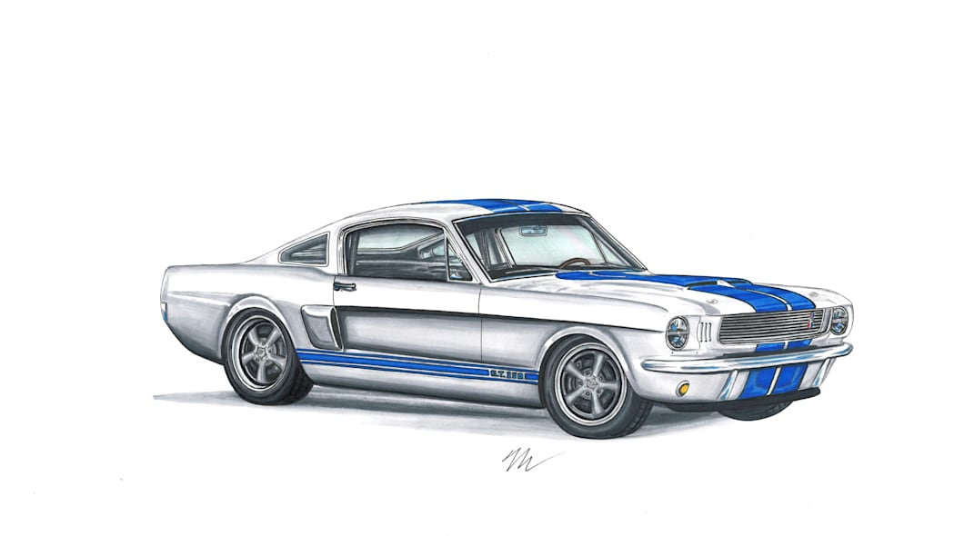 1966 Ford Shelby GT350 by Revology Cars