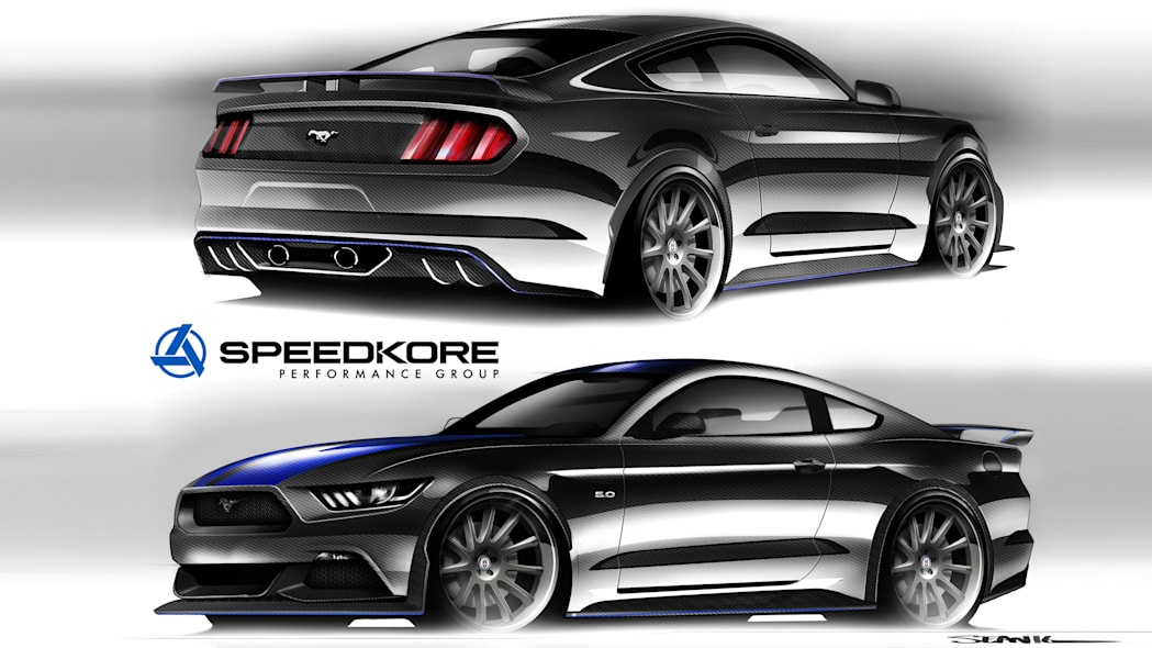 2017 Ford Mustang by Speedkore Performance Group