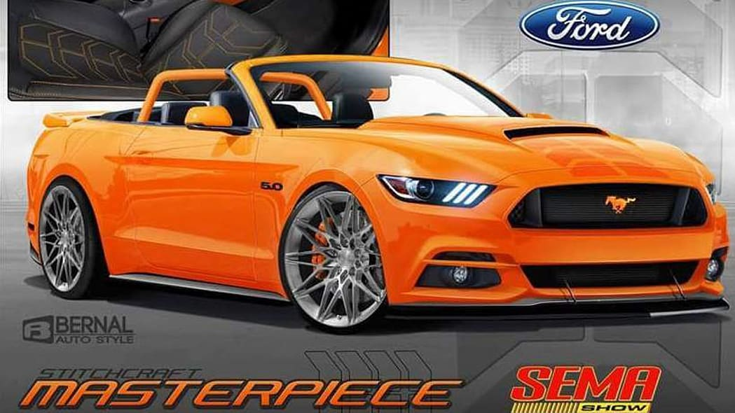 2017 Ford Pearl Candy Orange Mustang
