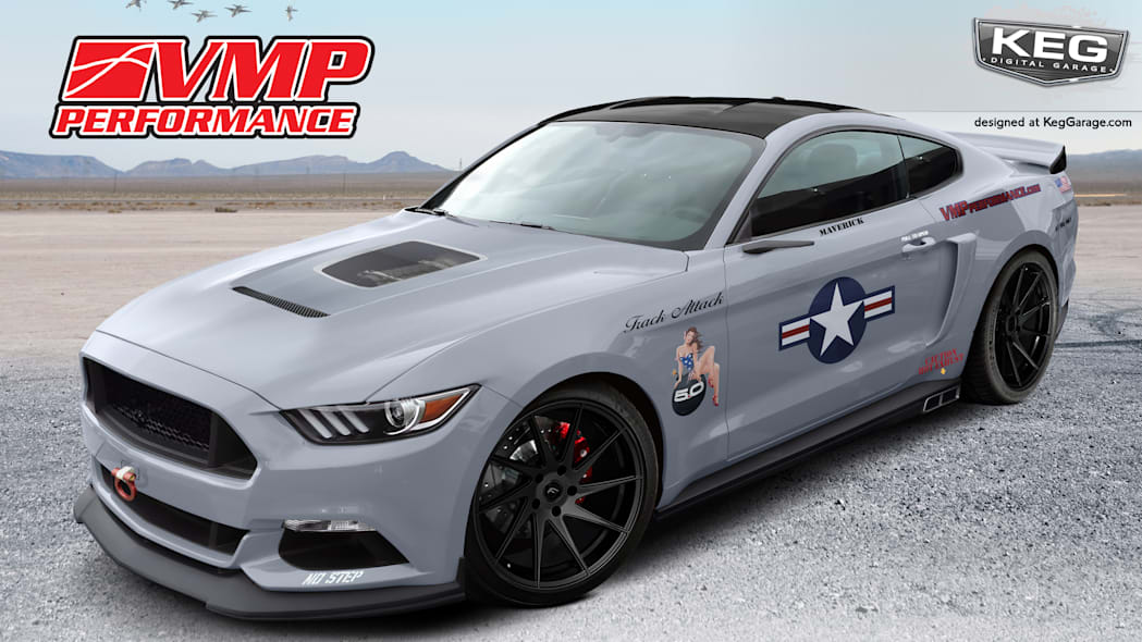 2017 Ford Mustang GT fastback by VMP Performance