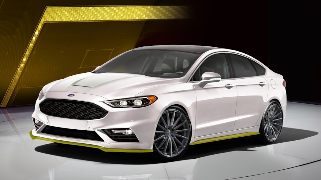 2017 Ford Fusion Sport by Webasto Thermo & Comfort