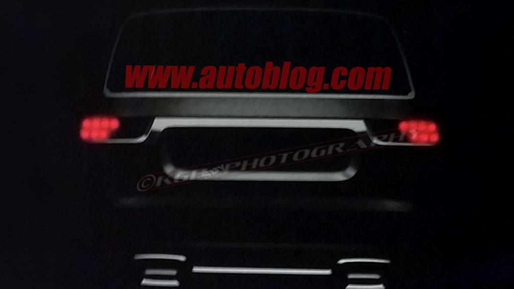 2019 Jeep Wagoneer Dealer Leak Spy Shots Rear End