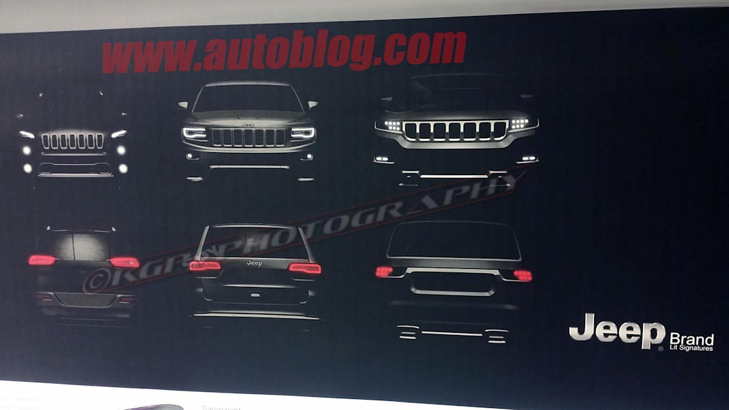 2019 Jeep Wagoneer Dealer Leak Spy Shots Rendering