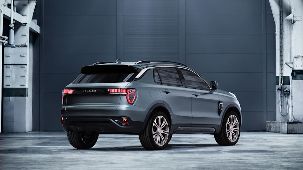 Lynk & Co. 01 There Quarter Rear Exterior