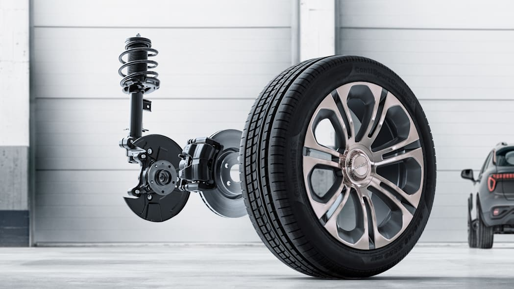 Lynk & Co. 01 Wheel and Suspension