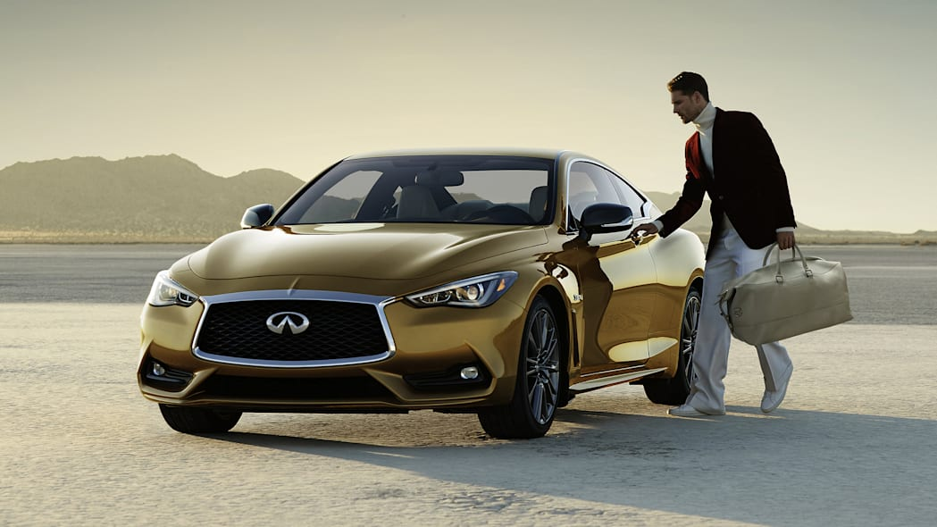2017 Infiniti Q60 Neiman Marcus Limited Edition front 3/4