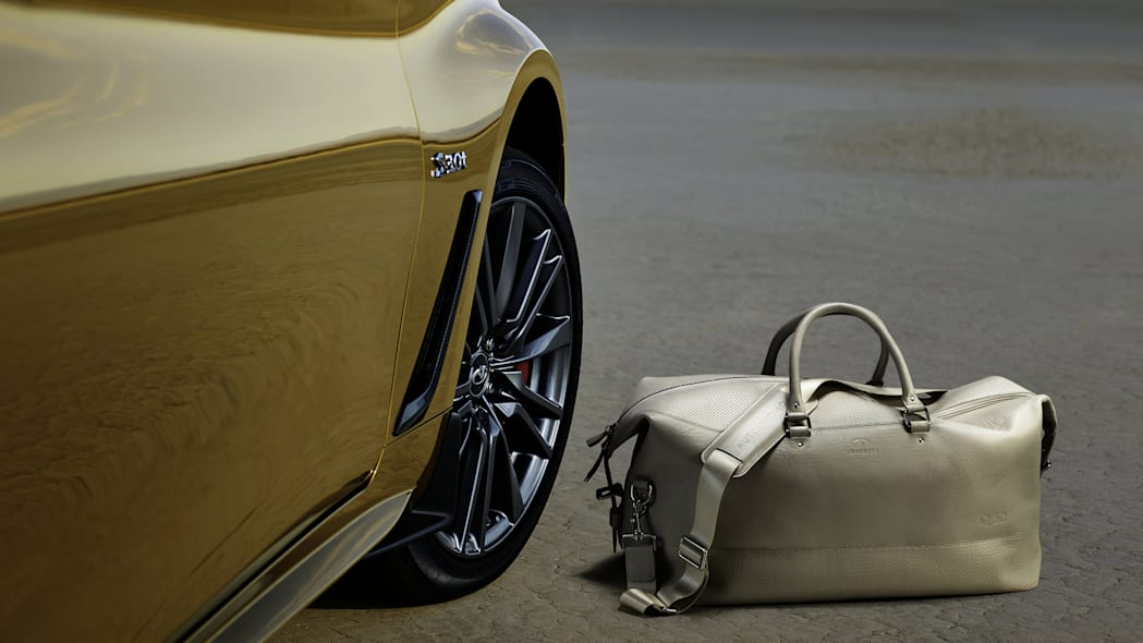 2017 Infiniti Q60 Neiman Marcus Limited Edition and bag