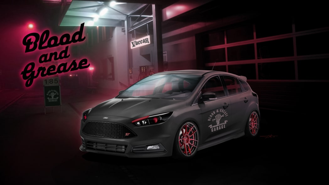 2016 Ford Focus ST by Blood & Grease