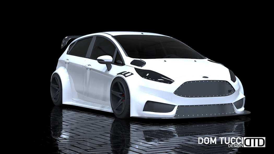 2016 Ford Fiesta ST by Tucci Hot Rods